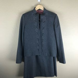 Vintage Grey Flannel Suit